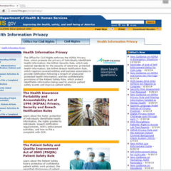 HHS Updates HIPAA Data Breach Reporting Portal