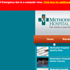 Methodist Hospital in Lockdown After Ransomware Attack