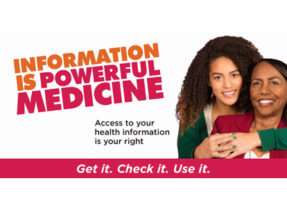 OCR Launches Information is Powerful Medicine Campaign to Encourage Patients to Access Their Health Data