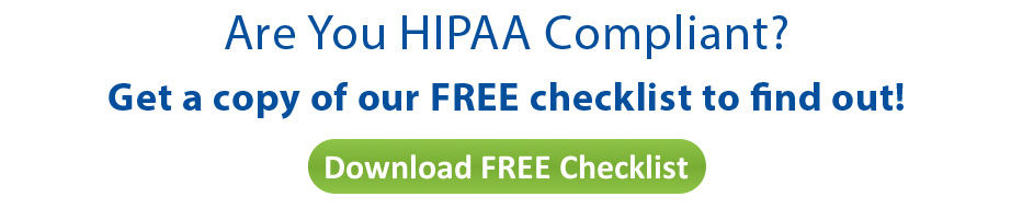 photograph relating to Free Printable Hipaa Forms named HIPAA Compliance List