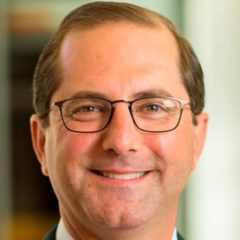 President Trump Nominates Alex Azar for HHS Secretary