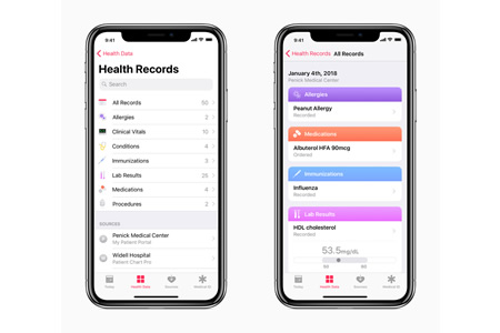 Apple Launches API for Developers to Allow EHR Data to be