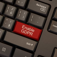 Upgrading Software to comply with GDPR
