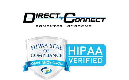 Direct Connect Computer Systems Inc. Recognized as HIPAA Compliant