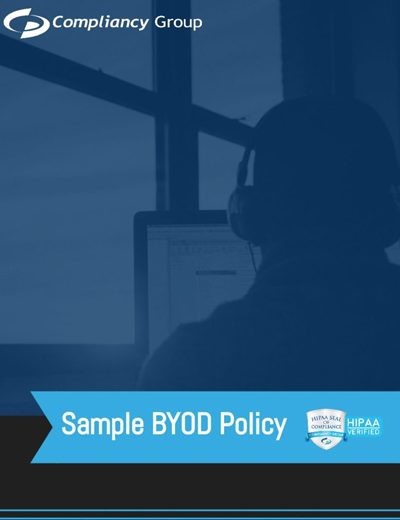 Sample HIPAA-Compliant BOYD Policy Preview