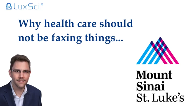 Why health care should stop using FAX.