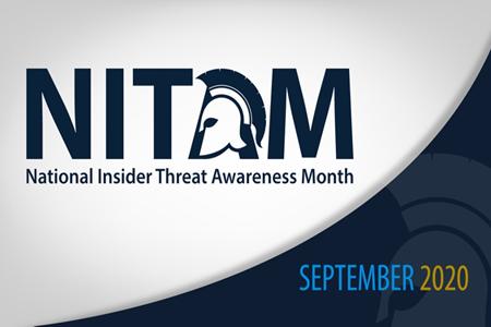 National Insider Threat Awareness Month