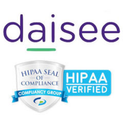 Daisee Confirmed as HIPAA Compliant by Compliancy Group
