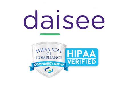 Daisee HIPAA compliant