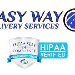 Easy Way Delivery Services Confirmed as HIPAA Compliant by Compliancy Group