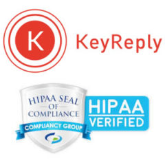 KeyReply Confirmed as HIPAA Compliant by Compliancy Group