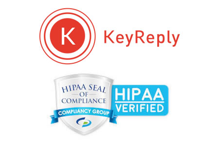 KeyReply HIPAA Compliant