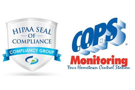 COPS monitoring HIPAA compliant