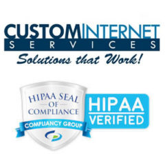 Custom Internet Services LLC Confirmed as HIPAA Compliant by Compliancy Group