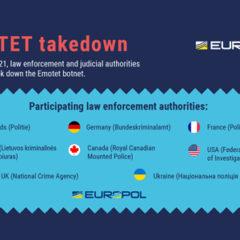 Multinational Law Enforcement Operation Takes Down the Emotet Botnet