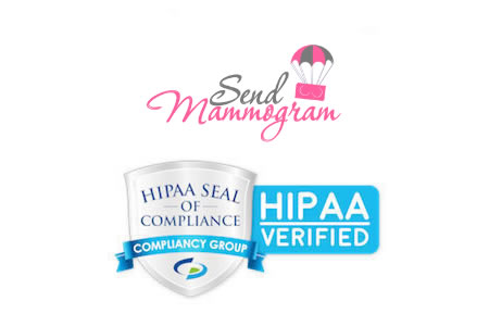 Send Mammogram HIPAA compliant