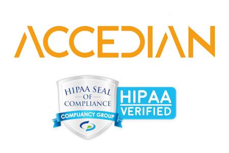 Accedian HIPAA compliant