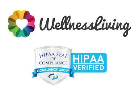 Wellnessliving HIPAA compliant