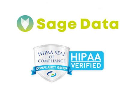 SageData HIPAA compliant
