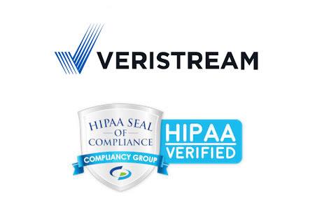 Veristream HIPAA compliant