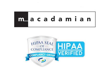 Macadamian Technologies HIPAA compliant