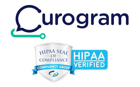 Curogram Confirmed as HIPAA Compliant by Compliancy Group